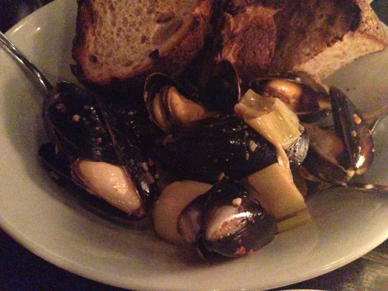 House of Haos Le Philosophe Noho NYC New York Mussels