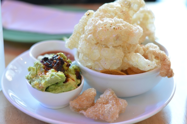 House of Haos Mission Cantina Lower East Side NYC New York Chicharrons Guacamole