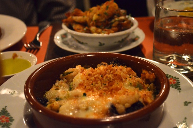 House of Haos Osteria Morini New York Cauliflower Gratin