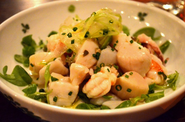 House of Haos Osteria Morini New York Seafood Salad