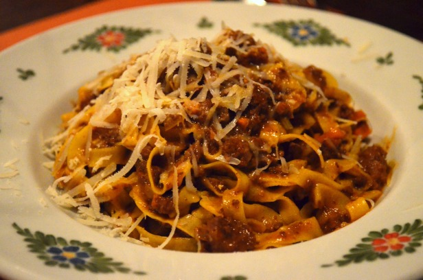 House of Haos Osteria Morini New York Tagliatelle