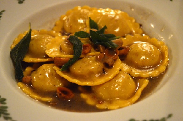 House of Haos Osteria Morini New York Tortelli di Mele