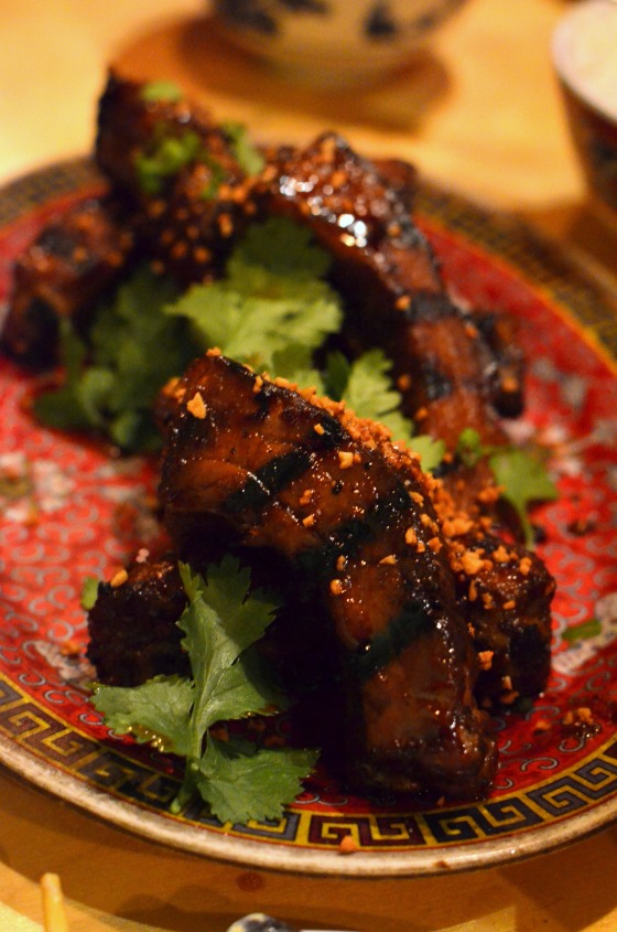 House of Haos Pig and Khao New York City BBQ Baby Back Ribs