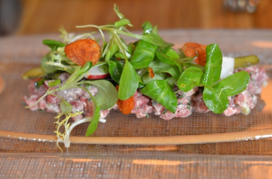House of Haos The Dutch New York City Beef Tartare