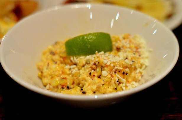 House of Haos Toro Chelsea NYC New York Corn Aioili Lime Espellette Pepper Cheese