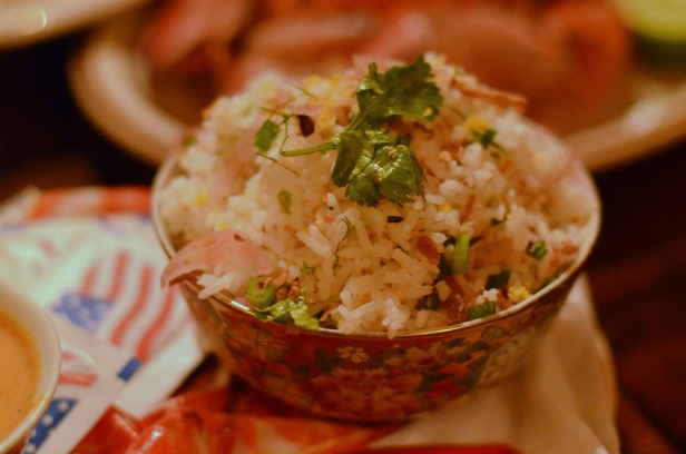 House of Haos Uncle Boons New York City Khao Yum Thai Jasmine Rice Ginger Toasted Coconut