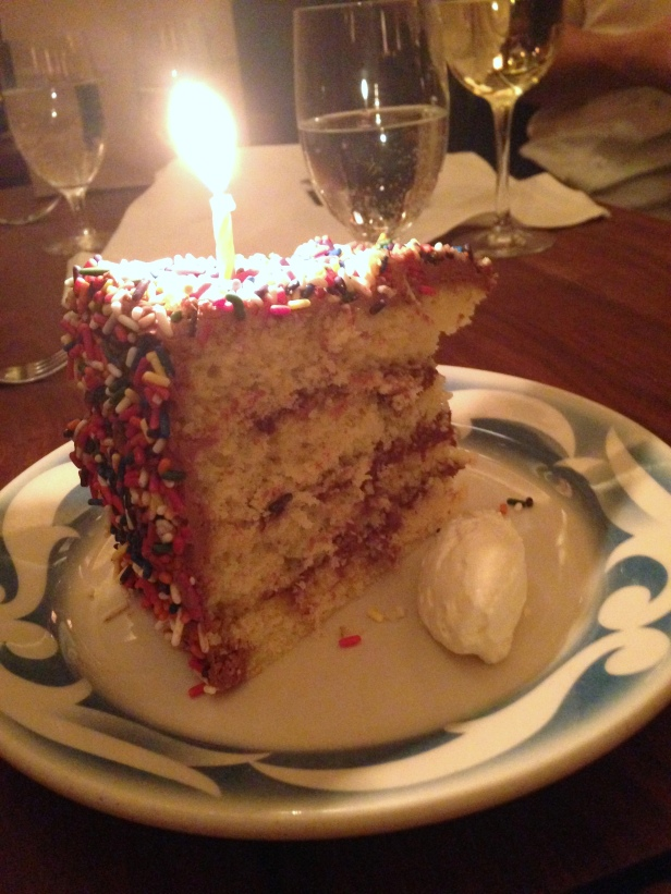 House of Haos Commerce Restaurant New York Birthday Cake
