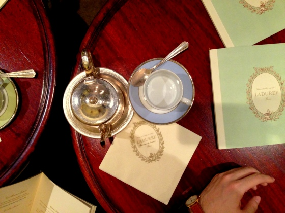 House of Haos Laduree Cafe Tea Paris France