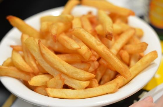 House of Haos L'As du Falefel Marais Paris Frites Fries