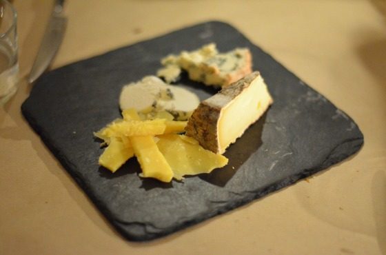 House of Haos Les Fines Gueules 75001 Paris Cheese Plate Fromage