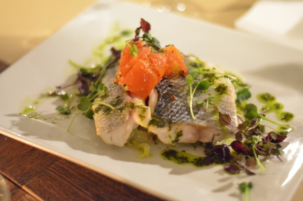 House of Haos Les Fines Gueules 75001 Paris Sea Bass