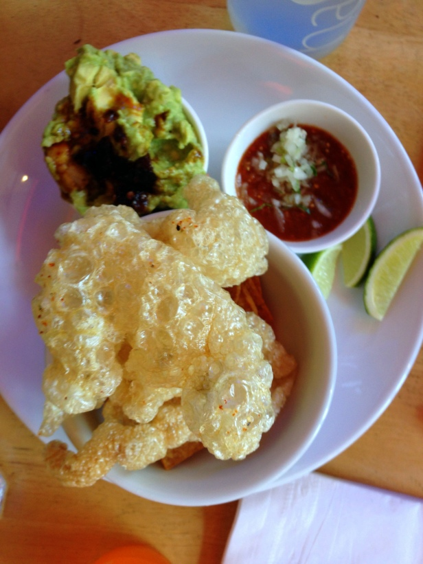 House of Haos Mission Cantina NYC Chicharrones