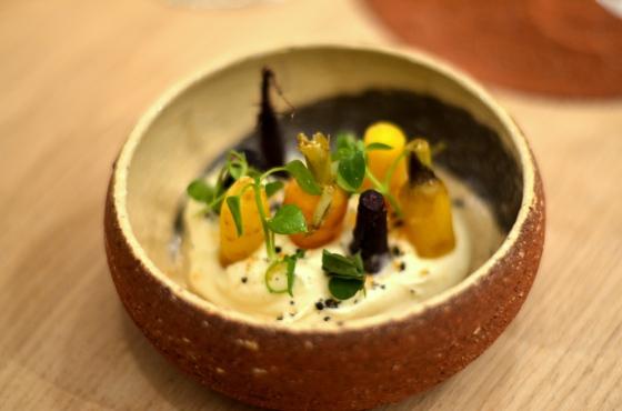 House of Haos Restaurant David Toutain Paris Carrots White Chocolate