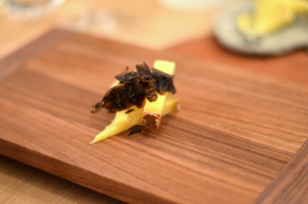 House of Haos Restaurant David Toutain Paris Cheese Black Truffle