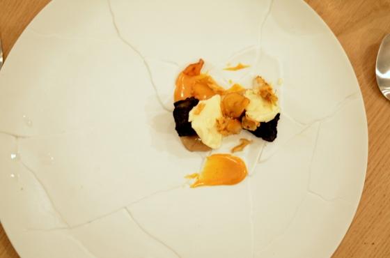 House of Haos Restaurant David Toutain Paris Sunchokes Pineapple Chestnuts Celery Root