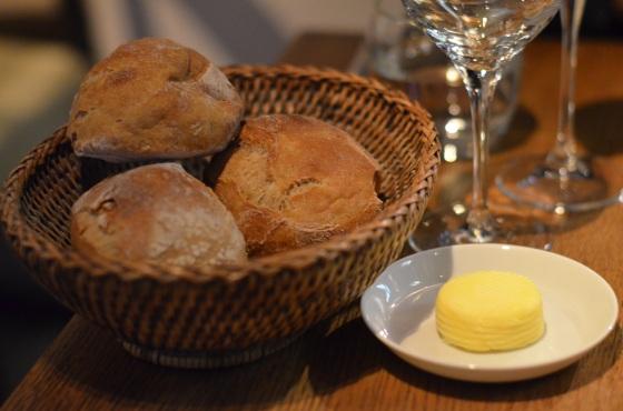 House of Haos Spring Restaurant Paris Bread Basket