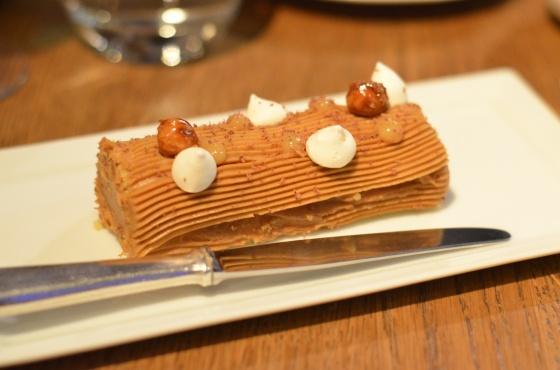 House of Haos Spring Restaurant Paris Hazelnut Bouche de Noel
