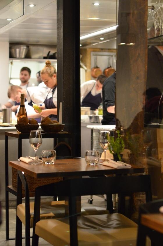 House of Haos Spring Restaurant Paris Kitchen