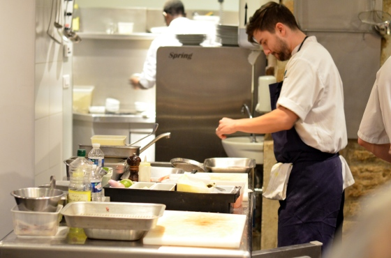 House of Haos Spring Restaurant Paris Open Kitchen