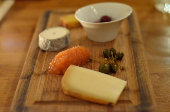 House of Haos Verjus Paris France Cheese Plate