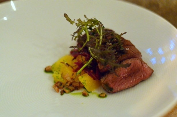 House of Haos Verjus Paris France Pan-seared duck Pineapple