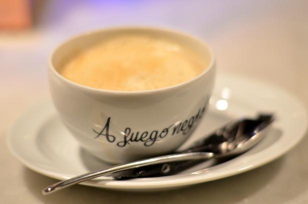 House of Haos A Fuego Negro Tapas St Sebastian Basque Country Spain Cafe Con Leche