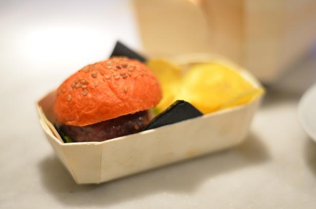 House of Haos A Fuego Negro Tapas St Sebastian Basque Country Spain Makobe Burger Txips