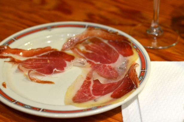 House of Haos Bar Nestor Tapas St Sebastian Basque Country Spain Jamon Iberico Ham 2