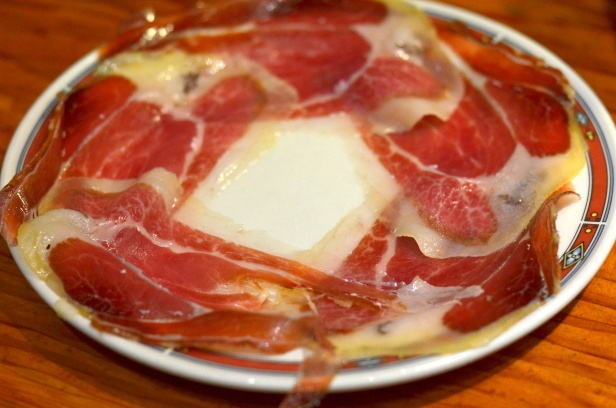 House of Haos Bar Nestor Tapas St Sebastian Basque Country Spain Jamon Iberico Ham
