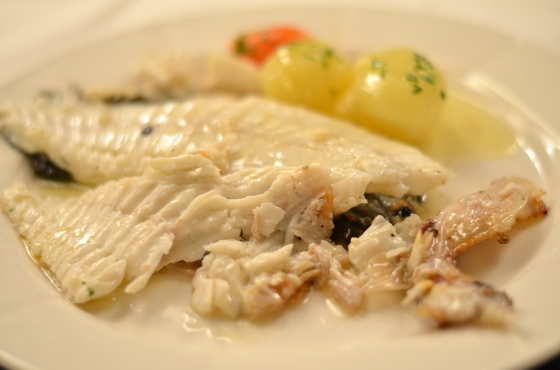 House of Haos Ganbara St Sebastian Basque Country Spain Charcoal-Grilled Wild Turbot 2