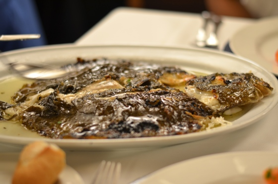 House of Haos Ganbara St Sebastian Basque Country Spain Charcoal-Grilled Wild Turbot