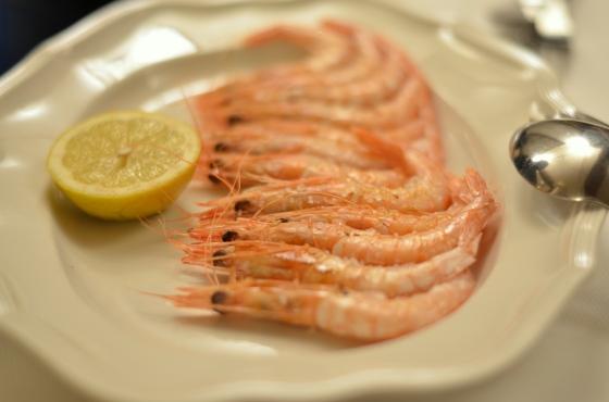 House of Haos Ganbara St Sebastian Basque Country Spain Grilled Shrimp