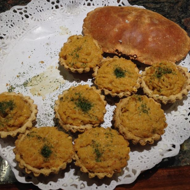 House of Haos Gandarias Tapas St Sebastian Basque Country Spain Crab Tarts