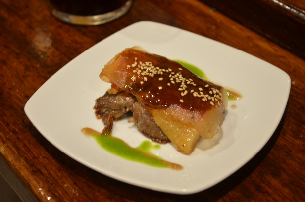 House of Haos La Cuchara de San Telmo Tapas St Sebastian Basque Country Spain Duck Confit Apple