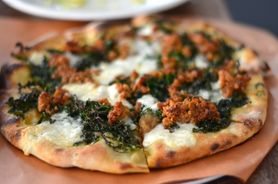 House of Haos Barbuto West Village NYC New York City Sausage Pizza