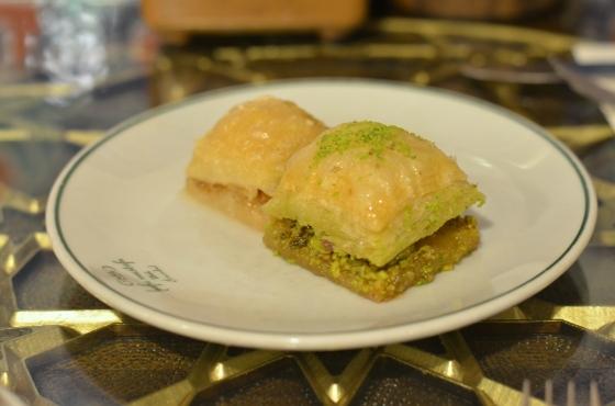 House of Haos Hafiz Mustafa Istanbul Turkey Milk Phylo Pastry Pistachio