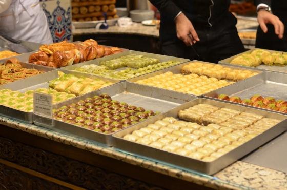 House of Haos Hafiz Mustafa Istanbul Turkey Pastries
