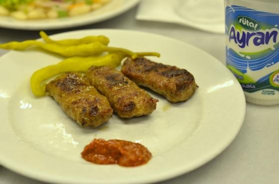 House of Haos Sultanahmet Koftecisi Istanbul Turkey Sausage