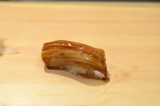House of Haos Tanoshi Sushi Upper East Side NYC New York City Anago Sea Eel