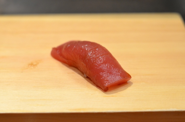 House of Haos Tanoshi Sushi Upper East Side NYC New York City Marinated Tuna Akami
