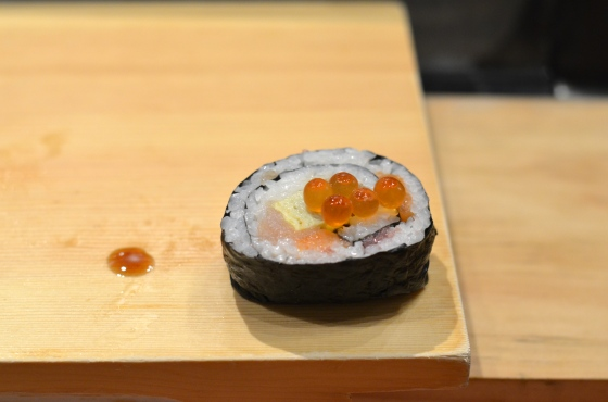 House of Haos Tanoshi Sushi Upper East Side NYC New York City Roll