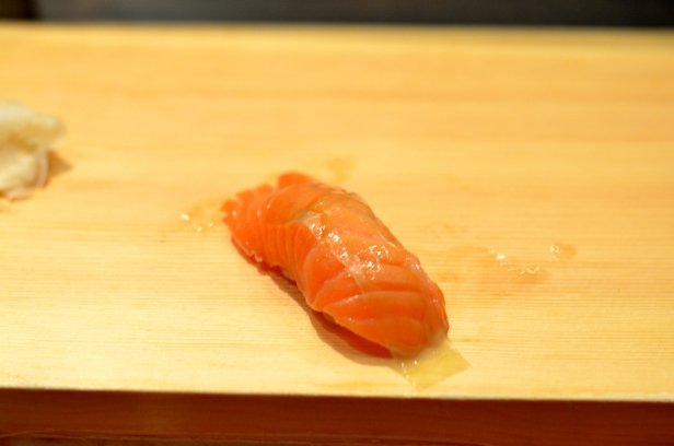 House of Haos Tanoshi Sushi Upper East Side NYC New York City Salmon
