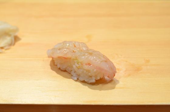 House of Haos Tanoshi Sushi Upper East Side NYC New York City Shrimp Ebi