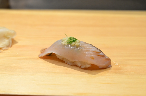 House of Haos Tanoshi Sushi Upper East Side NYC New York City Winter Spanish Mackerel
