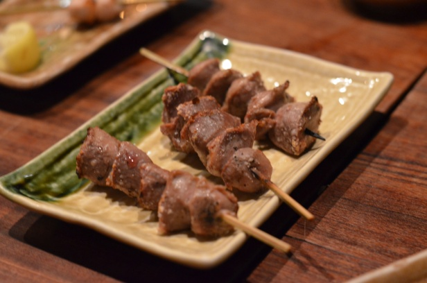 House of Haos Yakitori Tori Shin Upper East Side NYC New York City Chicken Gizzard
