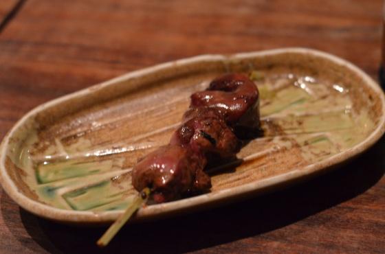 House of Haos Yakitori Tori Shin Upper East Side NYC New York City Chicken Liver