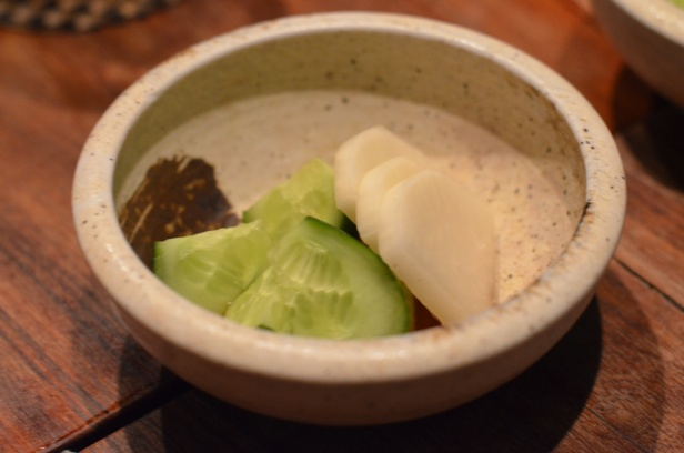 House of Haos Yakitori Tori Shin Upper East Side NYC New York City Pickles