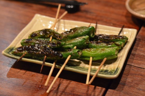 House of Haos Yakitori Tori Shin Upper East Side NYC New York City Shishito Peppers