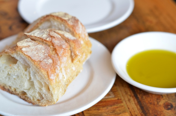 House of Haos Bar Pitti Greenwich Village NYC Bread Olive Oil