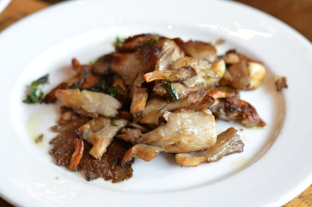 House of Haos Bar Pitti Greenwich Village NYC Funghi Mushrooms